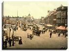 Canvas Print Of carlisle, market place