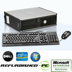 CLEARANCE! Fast Dell Optiplex Desktop PC Windows 7 Pro Computer + Keyboard+Mouse