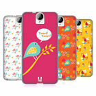 HEAD CASE DESIGNS BIRD PATTERNS SOFT GEL CASE FOR HTC ONE E9+ PLUS