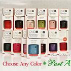 cnd shellac uv gel nail polish base top coat 7 3ml 0 25oz pick any color part a