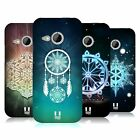 HEAD CASE DESIGNS SNOWFLAKES HARD BACK CASE FOR HTC ONE MINI 2