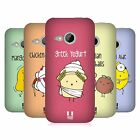 HEAD CASE DESIGNS YUMMY DOODLE HARD BACK CASE FOR HTC ONE MINI 2