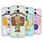 HEAD CASE DESIGNS CIRCUS ANIMALS SOFT GEL CASE FOR HTC ONE M8 M8S