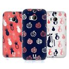 HEAD CASE DESIGNS FRUITY DOODLES SOFT GEL CASE FOR HTC ONE M8