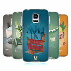 HEAD CASE DESIGNS MIX DRINKS-NEW SOFT GEL CASE FOR SAMSUNG GALAXY S5 MINI
