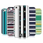 HEAD CASE DESIGNS PRINTED STRIPES SOFT GEL CASE FOR APPLE iPHONE 5C