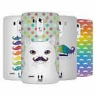 HEAD CASE DESIGNS RAINBOW MOUSTACHE SOFT GEL CASE FOR LG G3