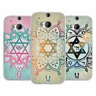HEAD CASE DESIGNS STAR OF DAVID SOFT GEL CASE FOR HTC ONE M8