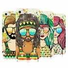 HEAD CASE DESIGNS SUMMER HIPPIES SOFT GEL CASE FOR APPLE iPHONE 5 5S