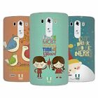 HEAD CASE DESIGNS VINTAGE XMAS SOFT GEL CASE FOR LG G3