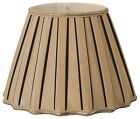 Staggered Pleat Designer Lampshade