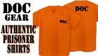 Prison Uniform Shirt Great Halloween Costume For Orange is the New Black Fans