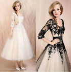 New Formal Evening Gown Women Wedding Dress Lace Prom Ball Cocktail Party Bridal