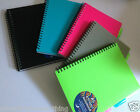 2 x Subject Project Notebook with 4 colour tabs repositionable A5 Book UK