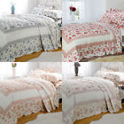Emma Barclay Lille Patchwork 100% Cotton Quilted Bedspread Set