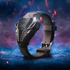 Cool LED Digital Watch Men's Cobra Triangle Snake Design Silicone Sports Watches