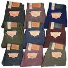 Levis 501 Button Fly Jeans Shrink To Fit Many Sizes Many Colors New With Tags!!!