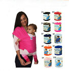 Mo-by Elastic Cotton Wrap Infant Baby Carrier Breastfeed Slings Cosy Backpacks