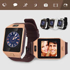 Latest DZ09 Bluetooth Smart Watch+Camera SIM Slot For Samsung HTC Android Phones