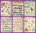 *BEARY PATCH MINIS* CLEAR STICKERS EASTER LITTLE GIRL LITTLE BOY WESTERN TITLES