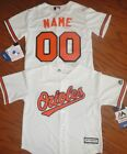 Baltimore Orioles Cool Base MLB Majestic Youth  Replica Jersey add name & number