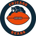 Chicago Bears wall decal (made with PHOTOTEX)not low end vinyl