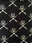 STAR WARS DARTH VADER glow in the dark : 100% Licensed cotton By the 1/2 metre