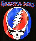 Grateful Dead T-shirt Steal Your Face Graphic Tee Black Preshrunk Cotton NWT image