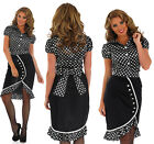 Ladies 1940s Babe Fancy Dress Costume War Pin Up Girl Outfit Adult