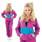 Ladies Shell Suit Fancy Dress Costume 80s Chav Retro Outfit Womens UK 8-30