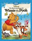 The Many Adventures of Winnie the Pooh Rated:G Format:Blu-ray KDS