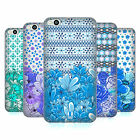 HEAD CASE DESIGNS FLORAL BLUE SOFT GEL CASE FOR HTC ONE X9