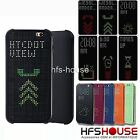 POUR HTC ONE X9 DOT VIEW COQUE HOUSSE ETUI CASE COVER