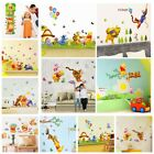 Winnie The Pooh Wall Decals Tigger Animal Kids Room Nursery Stickers Decor Home