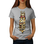 Monster Zombie Head Scary Face Women T-shirt S-2XL NEW | Wellcoda