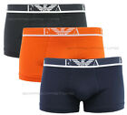 Emporio Armani Boxer 3 Pack Underwear men mod.111357  black orange blue