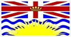 British Columbia B.C. Flag Logo Decal / Sticker MV