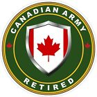 Canadian Army Retired Decal / Sticker