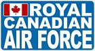 Royal Canadian Air Force RCAF Rectangle Decal / Sticker