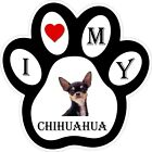 Chihuahua Dog Paw Decal / Sticker