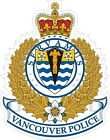 Vancouver Police Decals / Stickers