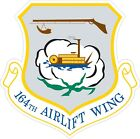 Air National Guard 164th Airlift Wing Decal / Sticker