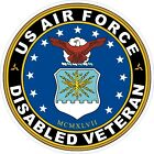 US Air Force USAF Disabled Veteran Decal / Sticker