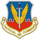 US Air Force USAFTactical Air Command Decal / Sticker