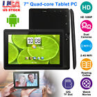 "Quad Core 7"" Android 4.4 Tablet Dual Camera 8GB WIFI Bluetooth Bundle & Keyboard"