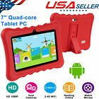 "7"" Tablet PC Android Quad Core 8GB Dual Camera Christmas Gift For Kids Family"