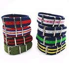 Fashion Bracelets Nylon Carbon Fiber Wristwatch Band  Women's Men 20 mm  WB001M