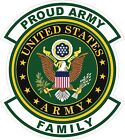Army Proud Family Decal / Sticker