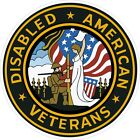 U.S. ArmyDisabled American Veterans Decal / Sticker