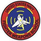 United States Navy Fighter Weapons School Decal / Sticker